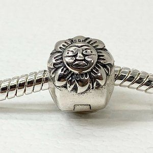 New Pandora Charm Night & Day Clip Sterling Silver